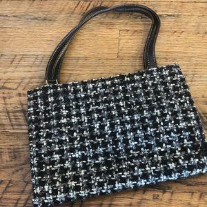 Kate Spade black and white bag